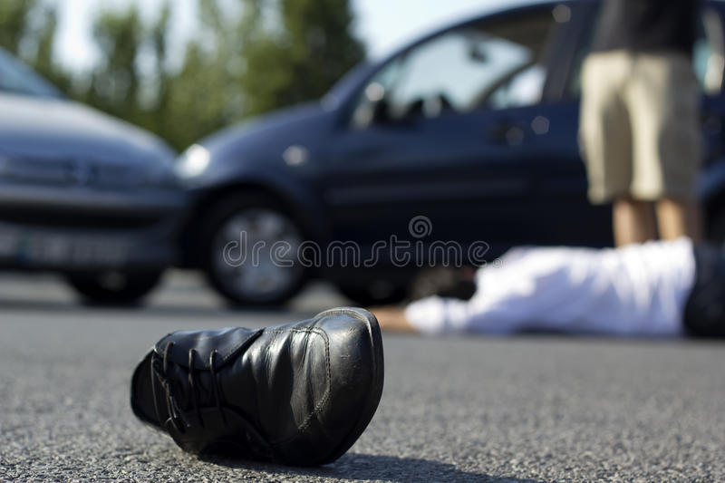 Auto Accident royalty free stock photography