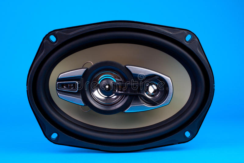 Auto audio system loud speaker stock images