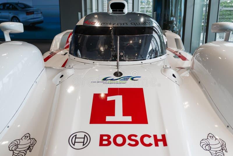 Auto Audis R18 Le Mans lizenzfreie stockfotografie