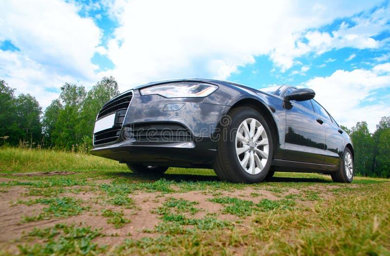 Auto auf Natur lizenzfreie stockbilder