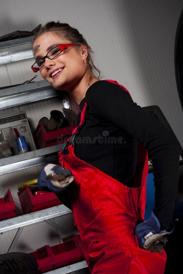 auto beautiful mechanic στοκ φωτογραφία