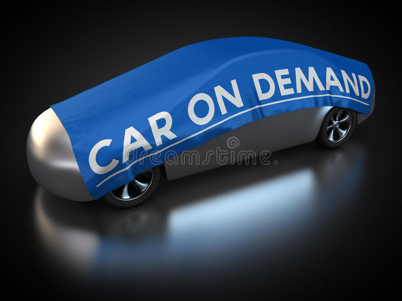 Auto Bedarfs- vektor abbildung