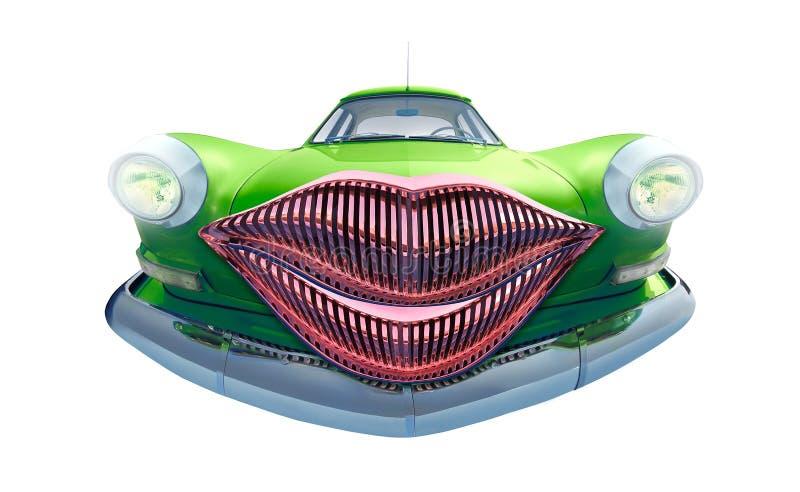Auto beijo ilustração do vetor