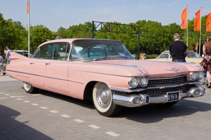Auto 1959 Cadillacs Sedan De Ville stockfoto