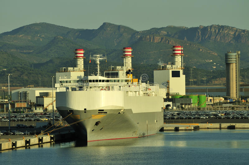 Download Auto car carrier ship stock photo. Image of carrier, boat - 11044970