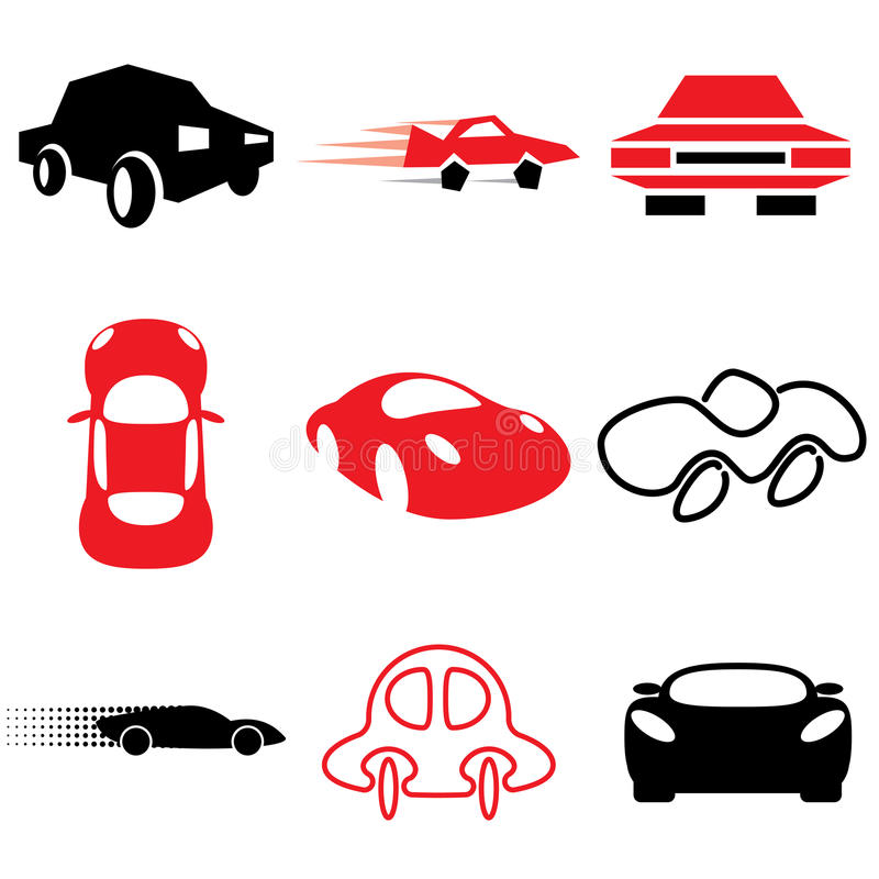 Download Auto and car icons stock vector. Illustration of isolated - 24108317