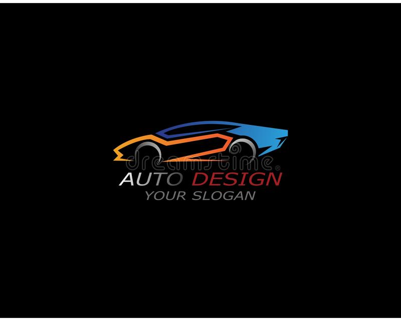 Auto car logo inspiration template design vector illustration