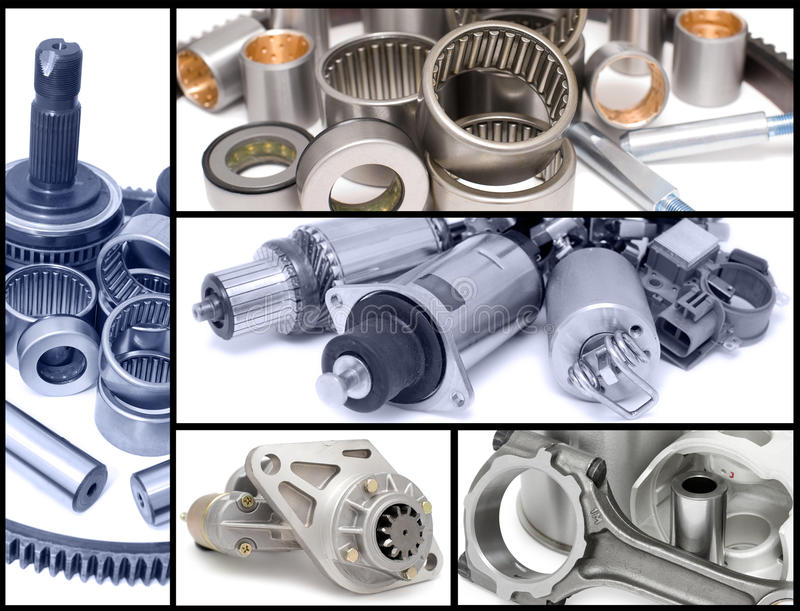 Download Auto Car Parts, Collage Royalty Free Stock Photos - Image: 25092728