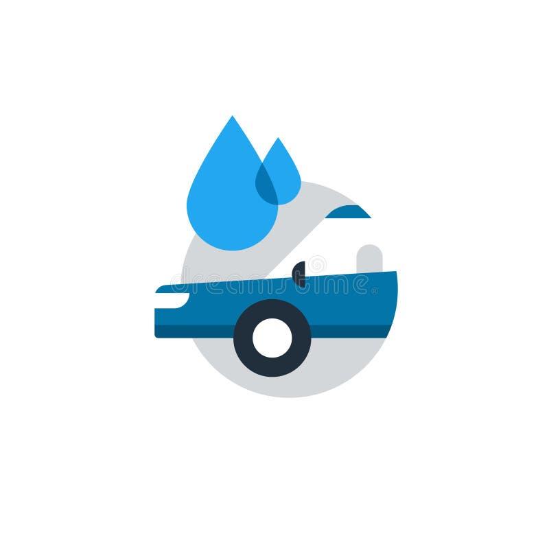 auto car wash concept cleaning services logo stock vector rh dreamstime com car wash logo design pictures car wash logos clip art