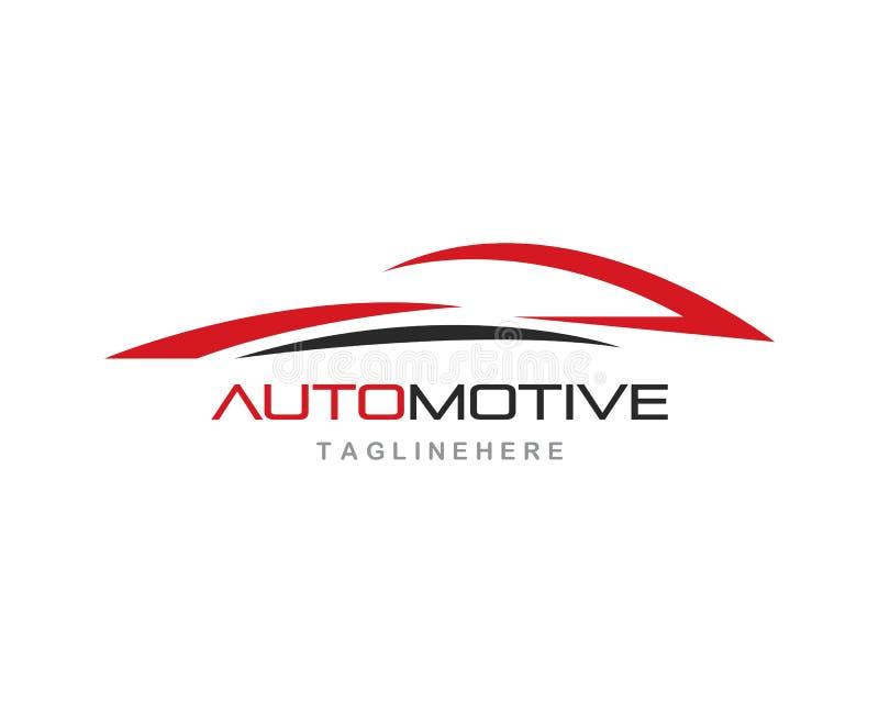 Auto carro Logo Template ilustração royalty free
