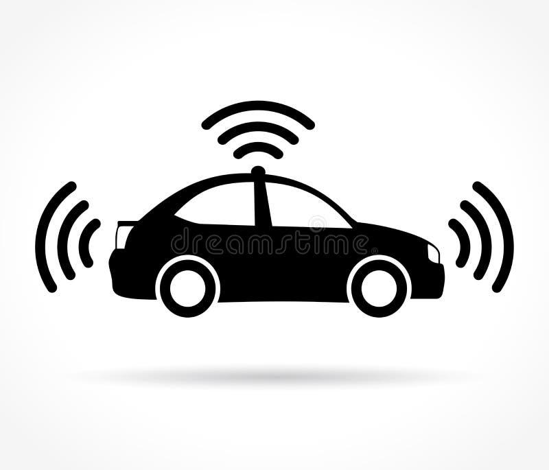Auto che determina l'icona dell'automobile royalty illustrazione gratis