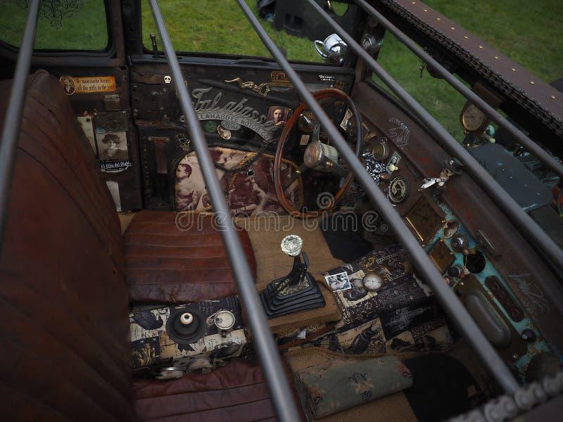 AUTO-COCKPIT - Goodwood-Festival der Geschwindigkeit und der Wiederbelebung stockfoto