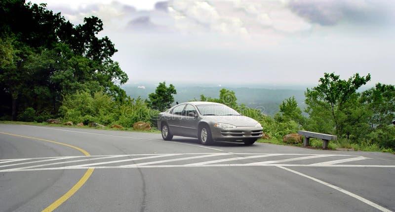 Auto Commercial Arkivfoton