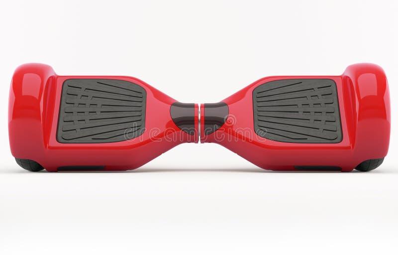 Auto da roda dupla que equilibra o 'trotinette' bonde de Smart do skate ilustração stock