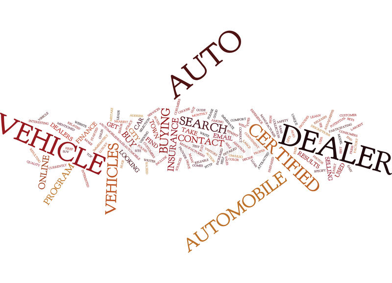 Auto Dealer In You City And Town Word Cloud Concept. Auto Dealer In You City And Town Text Background Word Cloud Concept royalty free stock image