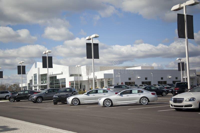 Auto_Dealership_Car_Lot royalty free stock photo