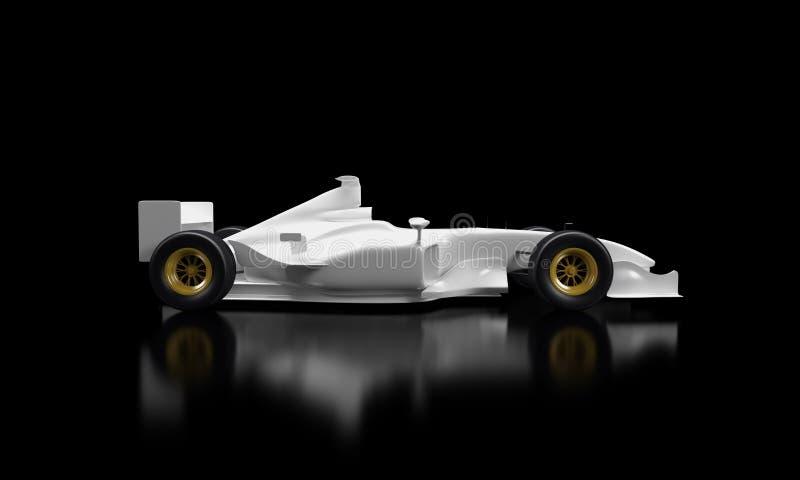 Auto der Formel-1 lizenzfreie abbildung