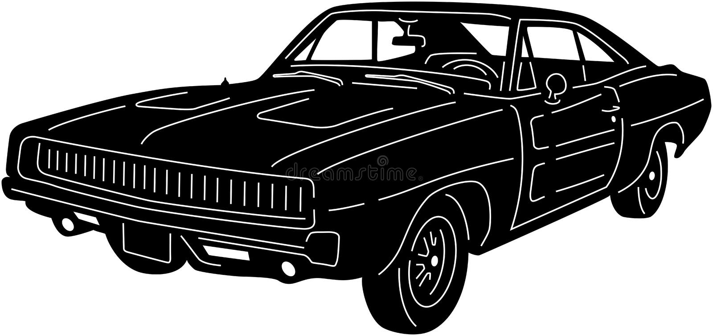 Auto - detailed-15 stock afbeelding