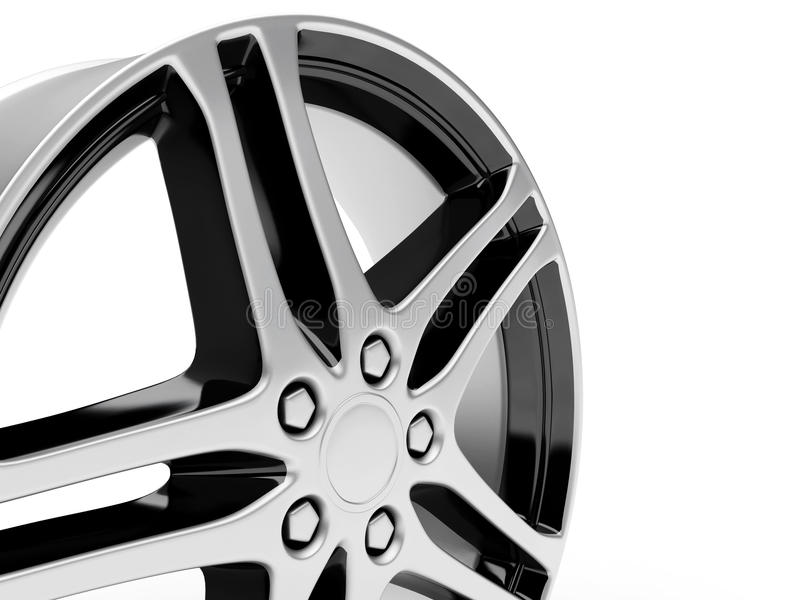 Download Auto disco ilustração stock. Ilustração de roda, bordas - 12801427