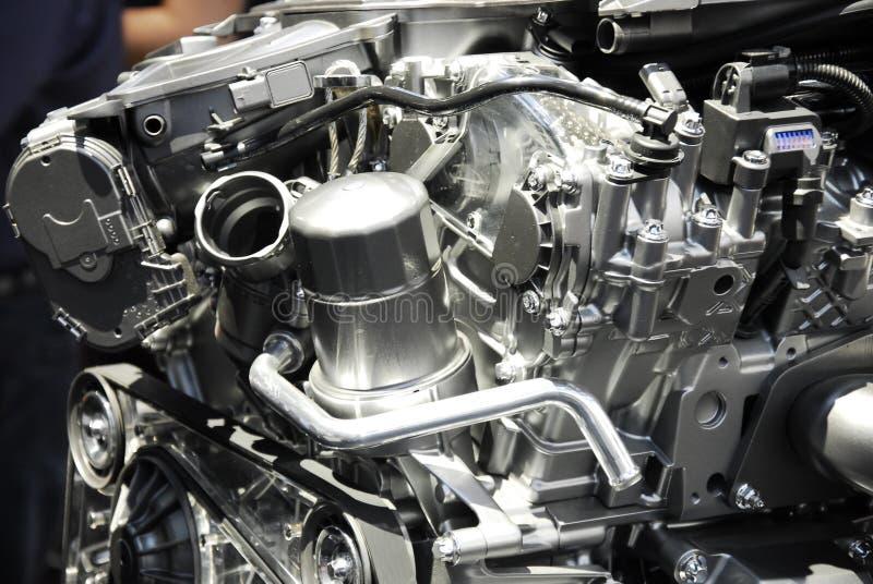 Auto engine model stock photo