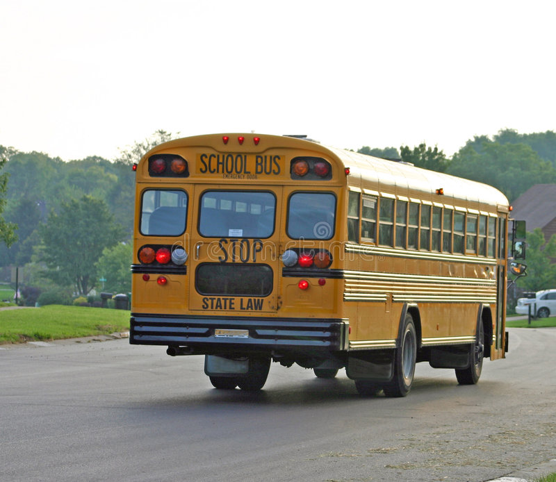 Auto escolar foto de stock royalty free