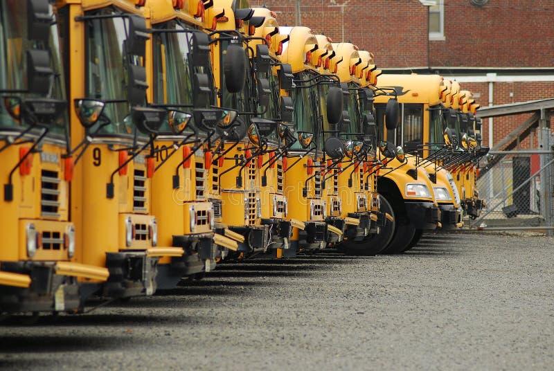 Auto escolares imagem de stock royalty free