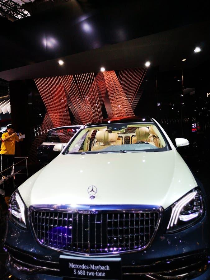 Shanghai auto exhibition in 2019 royalty free stock photos