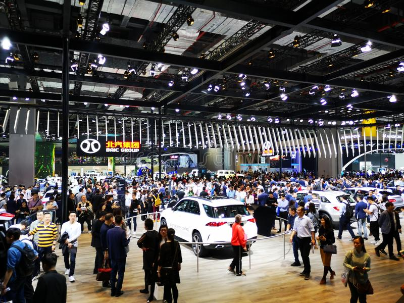 Shanghai auto exhibition in 2019 royalty free stock images