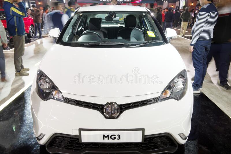 Auto Expo 2020, Greater Noida, India stock images