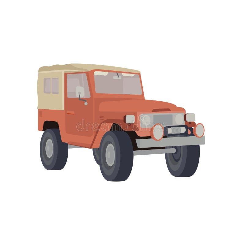 Auto für Abenteuer vektor abbildung