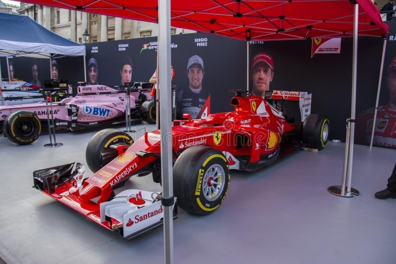 Auto F1 von Ereignis F1 Live London lizenzfreie stockfotografie