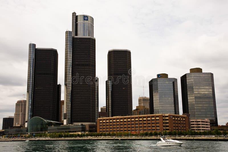 Auto fabricante falido General Motors dos E.U. fotografia de stock royalty free