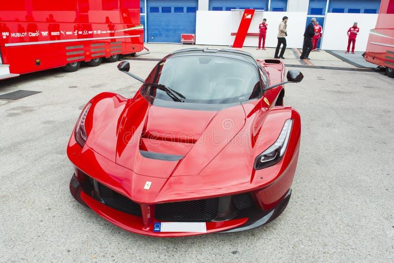 Auto Ferrari stock foto's