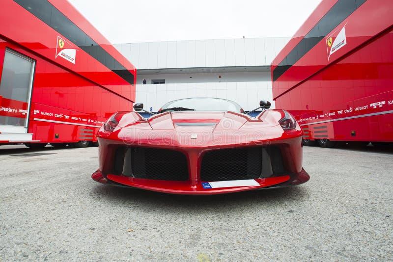 Auto Ferrari royalty-vrije stock afbeelding