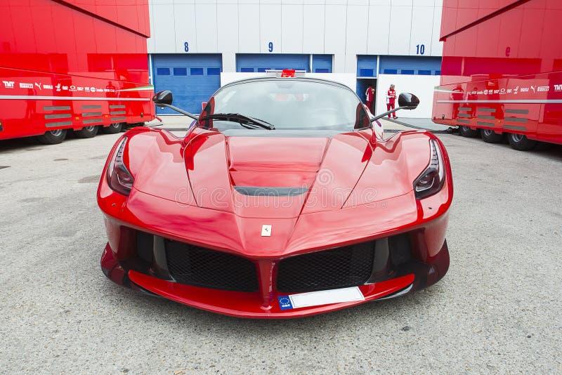 Auto Ferrari royalty-vrije stock foto
