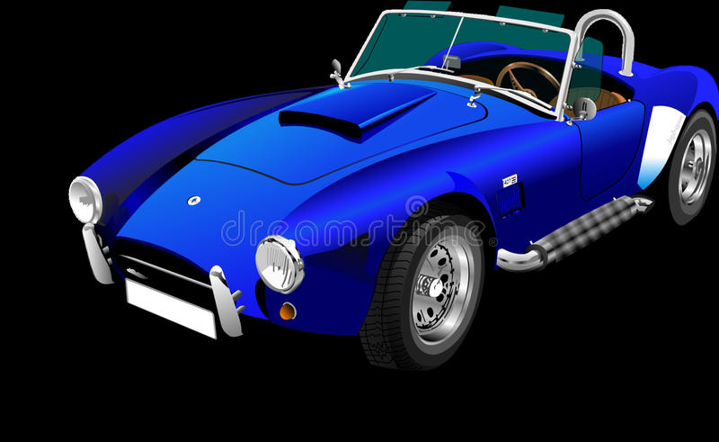 Auto, Ford Shelby Cobra Concept, Verkehrsmittel, Automobilentwurf lizenzfreie stockfotos