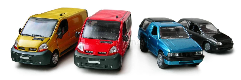 Auto formt - Ladung, Fluggastpackwagen, Aufnahme stockbild