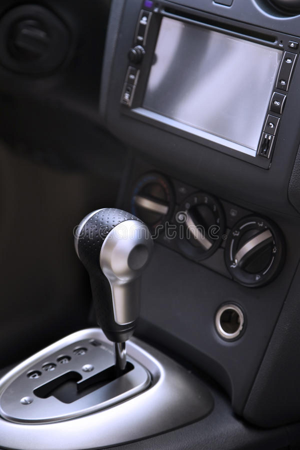 Download Auto gear shifter stock photo. Image of gear, electronic - 26323114
