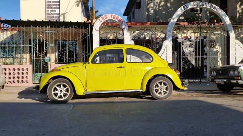 Auto in Havana lizenzfreies stockbild