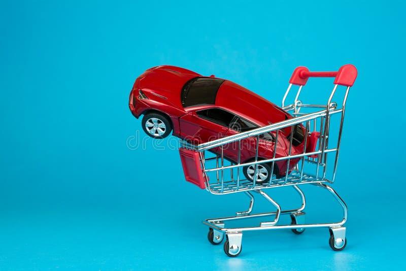 Auto het handel drijven en huurautoconcept royalty-vrije stock foto