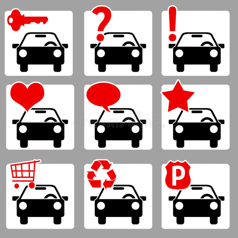 Download Auto Icons 2 Stock Photography - Image: 27719192