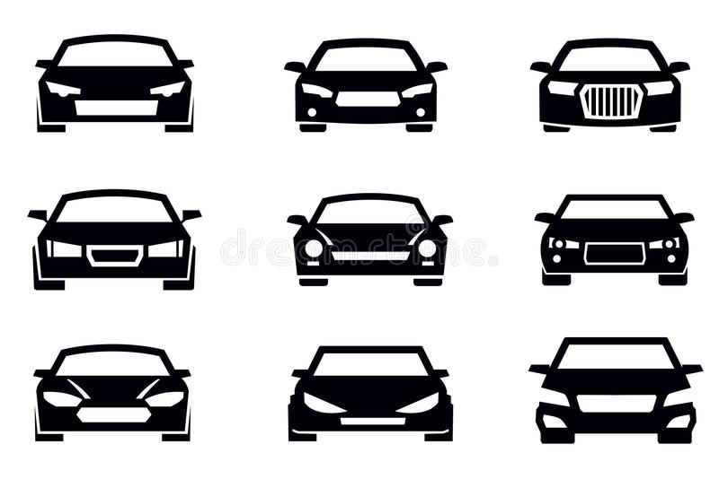 Download Auto icons stock vector. Image of transportation, silhouette - 30818217