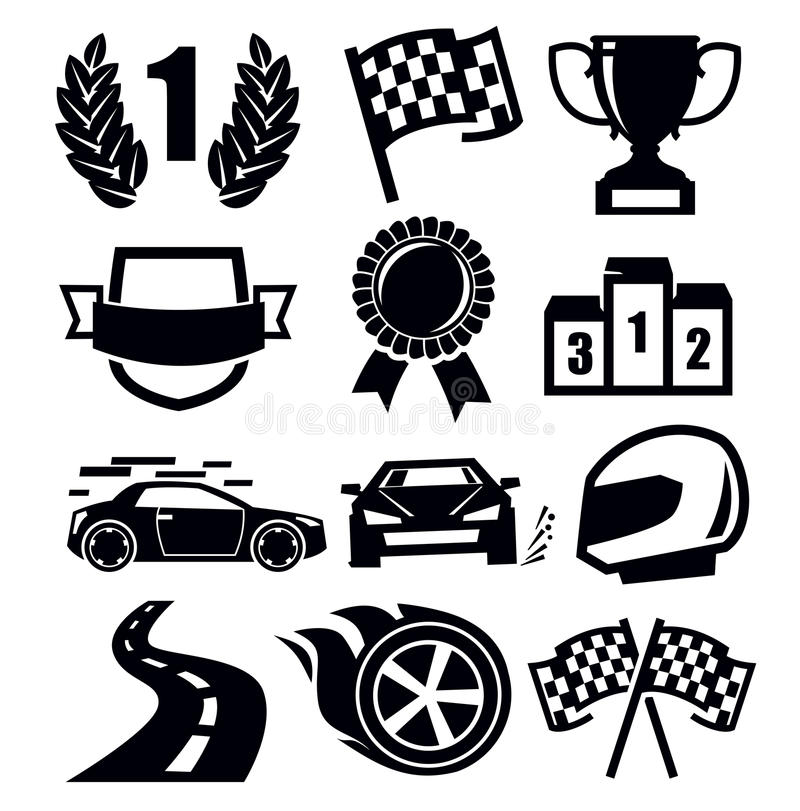Download Auto icons stock vector. Image of pictogram, race, element - 30818208