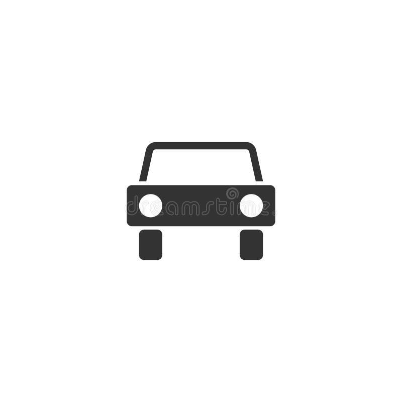 Auto-Ikone flach vektor abbildung