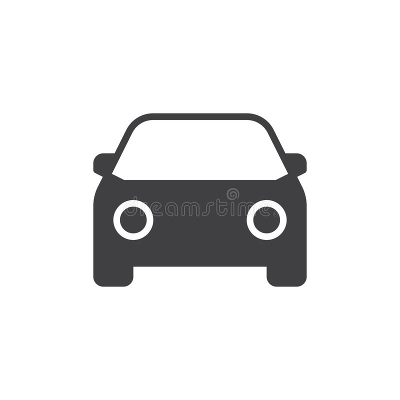 Auto-Ikonen-Vektor lizenzfreie abbildung