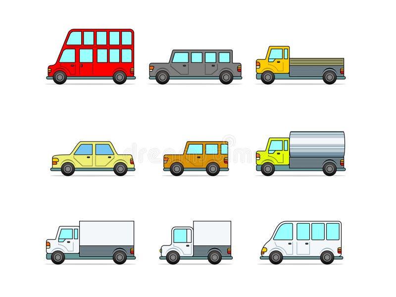Auto. ilustração do vetor ilustração stock