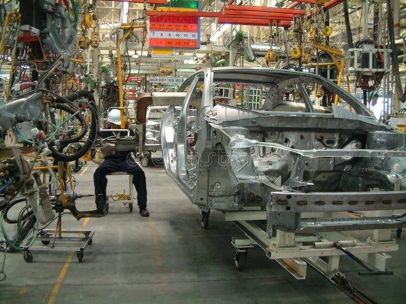auto industri arkivbild