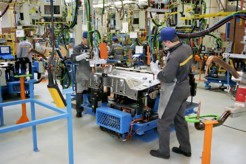 Auto-industrie royalty-vrije stock foto's