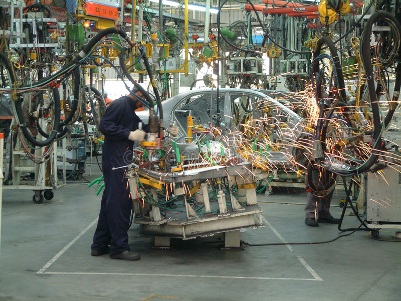 Auto Industry stock photo