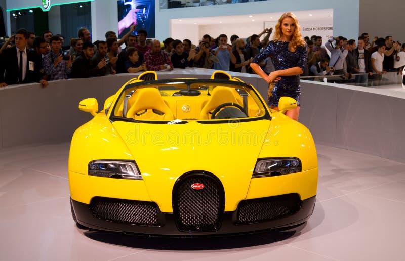 Auto Istanbuł Przedstawienie 2012 zdjęcia royalty free